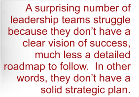 Why leadership teams struggle.